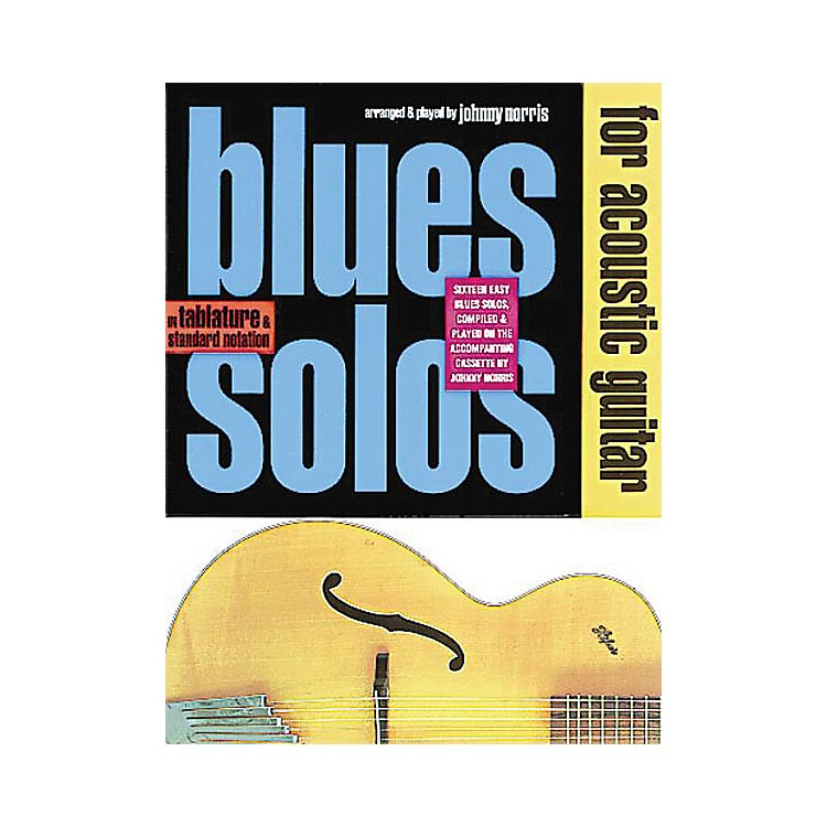 Music SalesBlues Solos for Acoustic Guitar Music Sales America Series Softcover with CD Written by Johnny Norris
