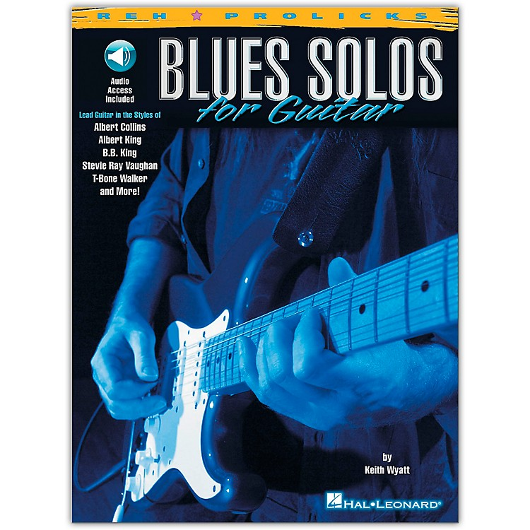 Hal Leonard Blues Solos for Guitar Book/CD