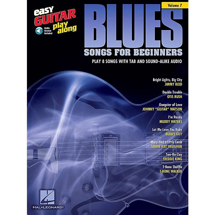 Berklee PressBlues Songs For Beginners - Easy Guitar Play-Along Volume 7 Book/CD