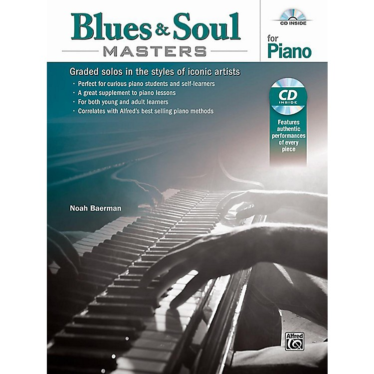 AlfredBlues & Soul Masters for Piano - Book & CD