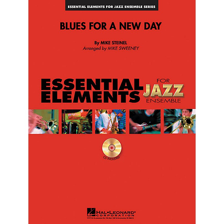 Hal LeonardBlues for a New Day Jazz Band Level 1-2 Composed by Mike Steinel