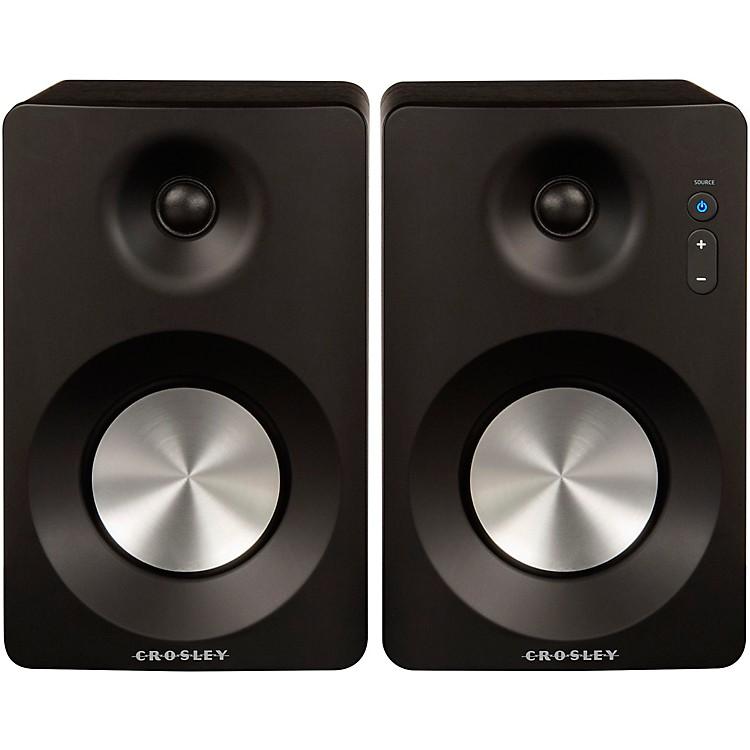 CrosleyBluetooth Speakers (Sold in Pairs)Black