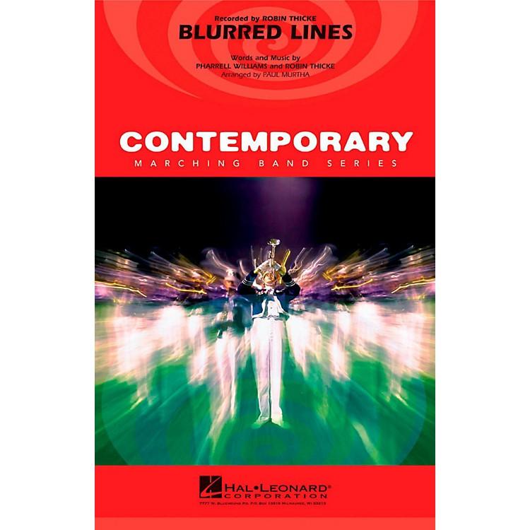 Hal LeonardBlurred Lines - Pep Band/Marching Band Level 3