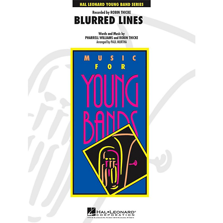Hal Leonard Blurred Lines - Young Concert Band Level 3