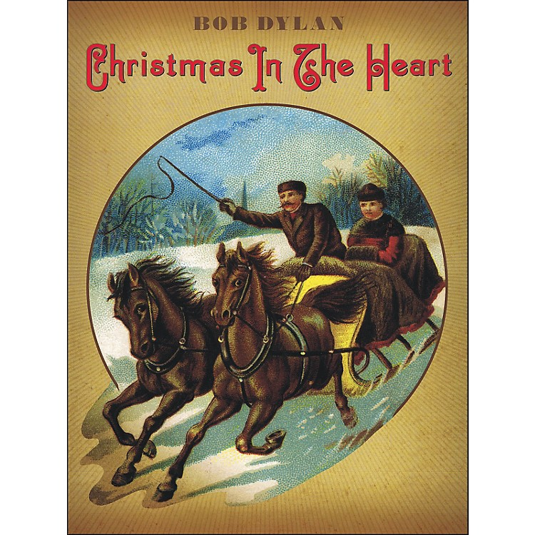 Music SalesBob Dylan - Christmas In The Heart arranged for piano, vocal, and guitar (P/V/G)
