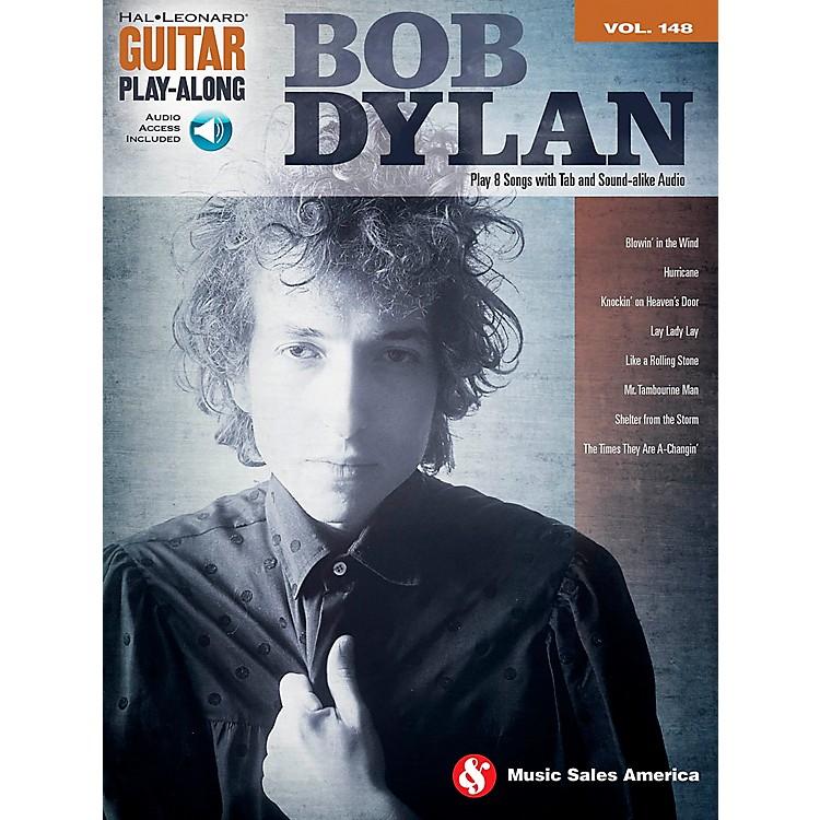 Music SalesBob Dylan - Guitar Play-Along Volume 148 Book/CD