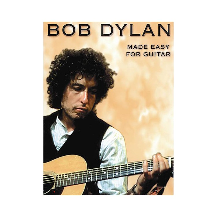 Music SalesBob Dylan - Made Easy for Guitar Music Sales America Series Softcover Performed by Bob Dylan