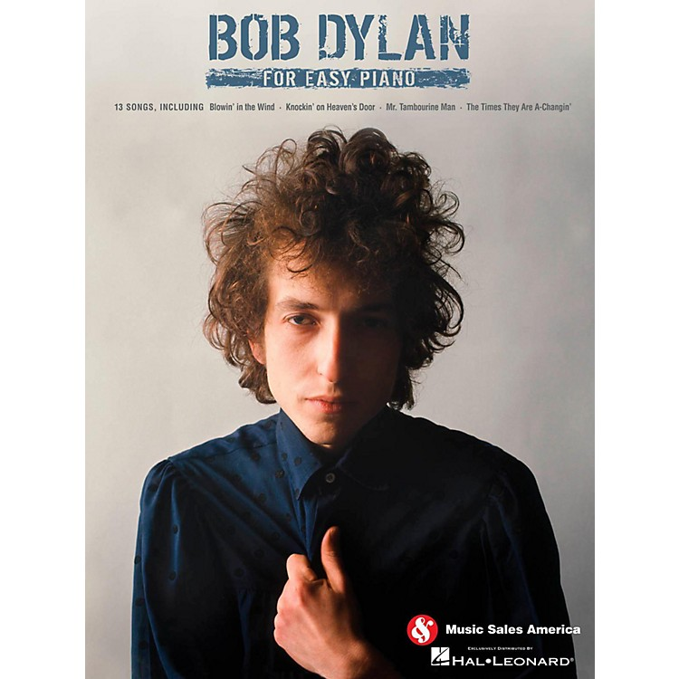 Music SalesBob Dylan For Easy Piano