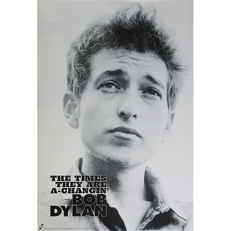 dylan s the times are a changin an The times of bob dylan: they are a-changin' when they gave the nobel peace prize to obama it was a time of hope in america this is a time of despair.