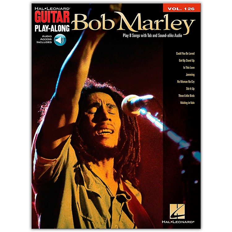 Hal Leonard Bob Marley - Guitar Play-Along Volume 126 (Book/CD)
