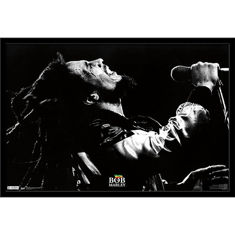 Trends InternationalBob Marley - Live PosterFramedBlack