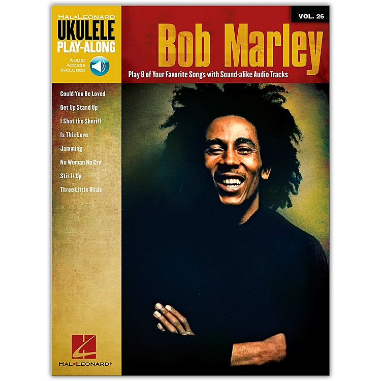 Hal LeonardBob Marley - Ukulele Play-Along Vol. 26 Book/Online Media