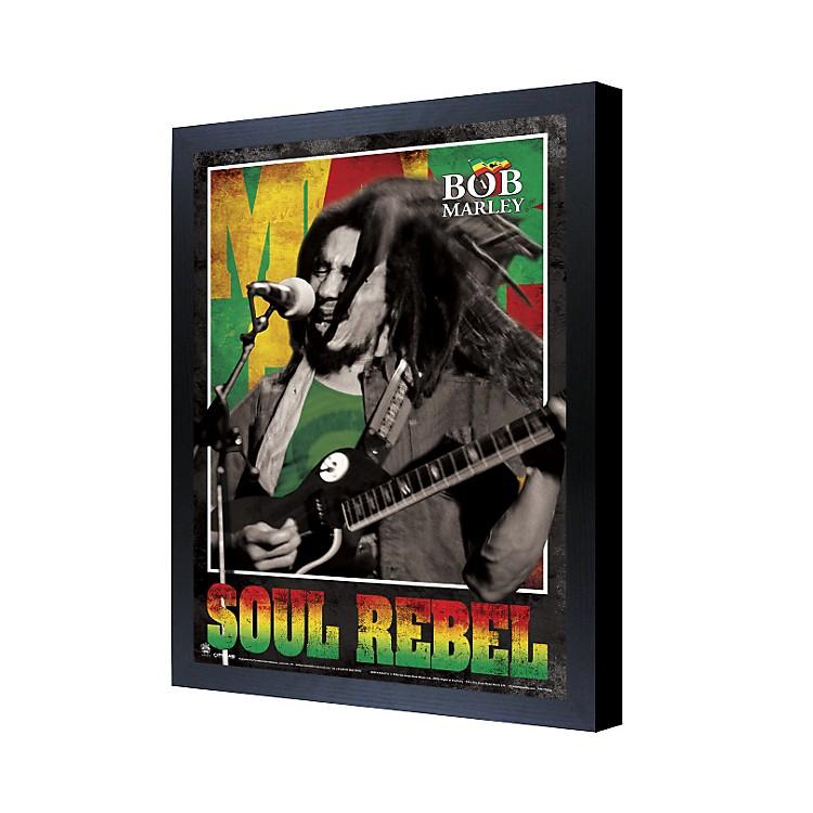 Ace FramingBob Marley Soul Rebel 3D Framed Poster