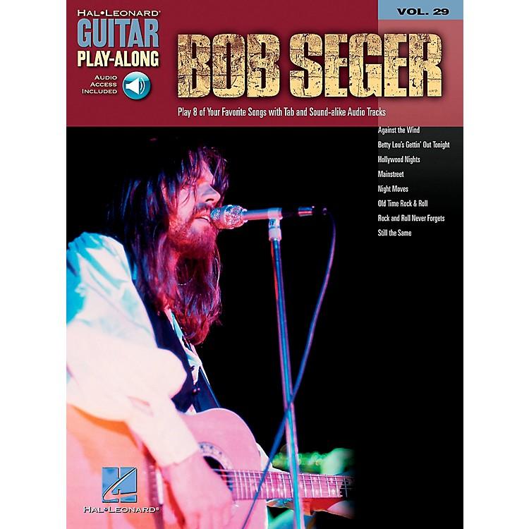 Hal LeonardBob Seger Guitar Play-Along Series Book with CD
