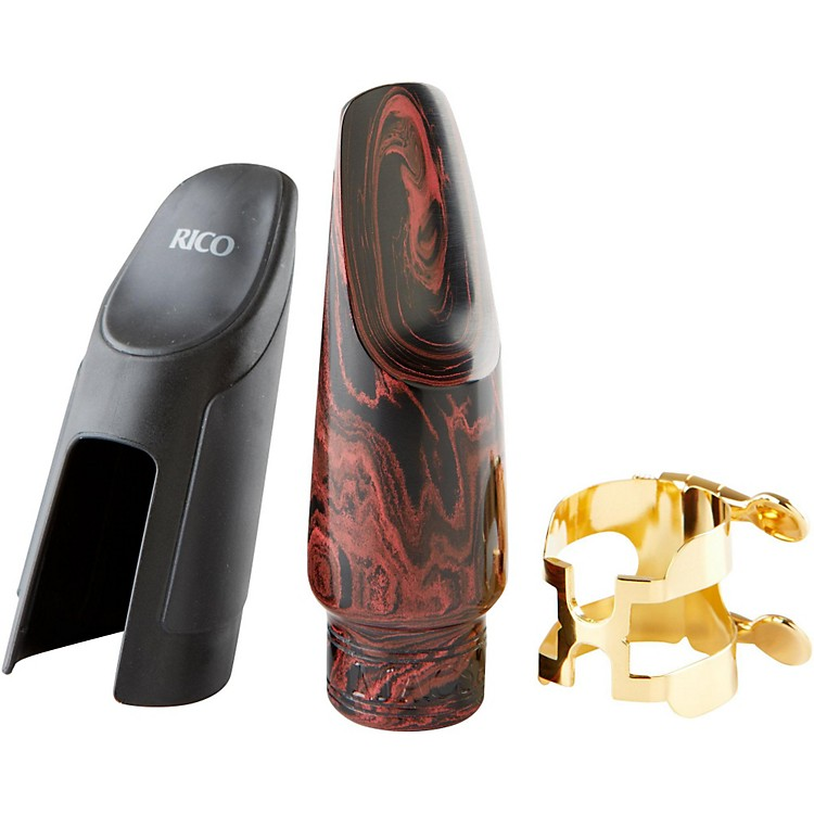 MACSAXBob Sheppard Red Marble Alto Saxophone MouthpieceO