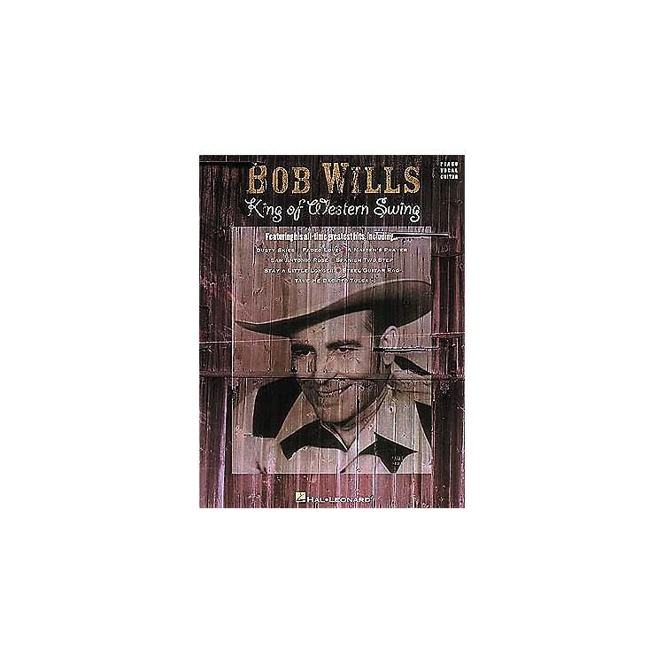Hal LeonardBob Wills - King of Western Swing Book