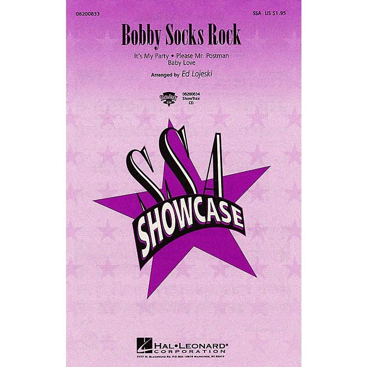 Hal LeonardBobby Socks Rock (Medley) ShowTrax CD Arranged by Ed Lojeski