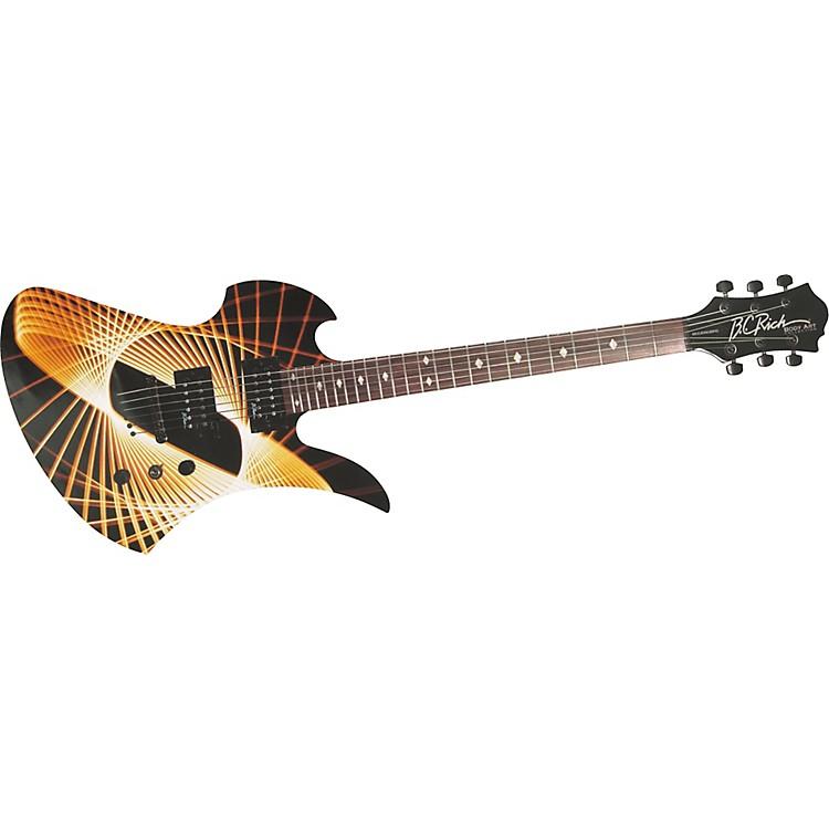b c rich body art mockingbird electric guitar music123. Black Bedroom Furniture Sets. Home Design Ideas