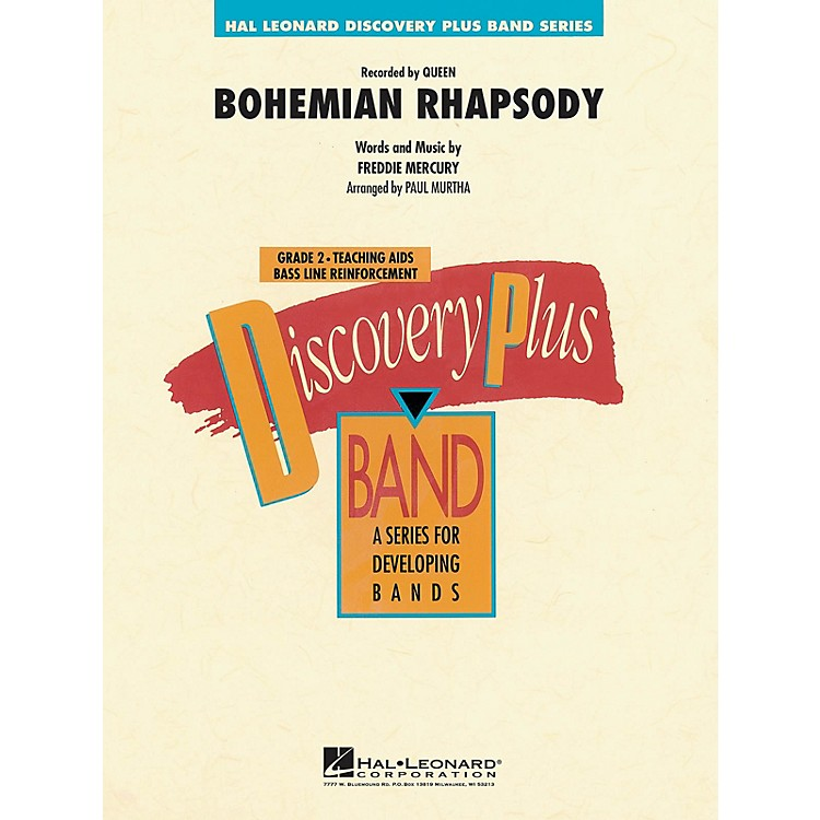 Hal LeonardBohemian Rhapsody - Discovery Plus Concert Band Series Level 2 arranged by Paul Murtha