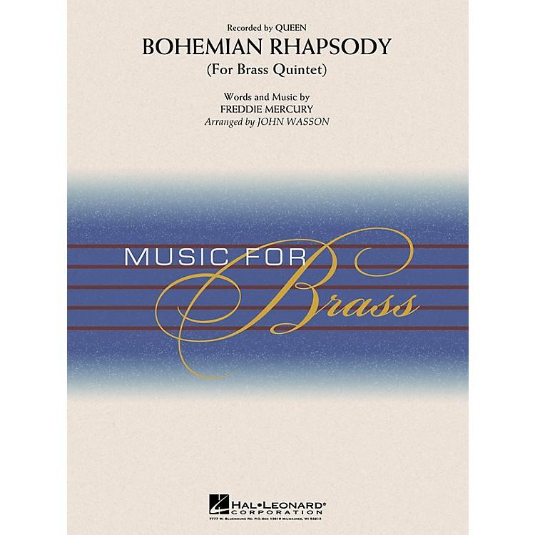 Hal LeonardBohemian Rhapsody (Brass Quintet) Concert Band Level 3-4 by Queen Arranged by John Wasson