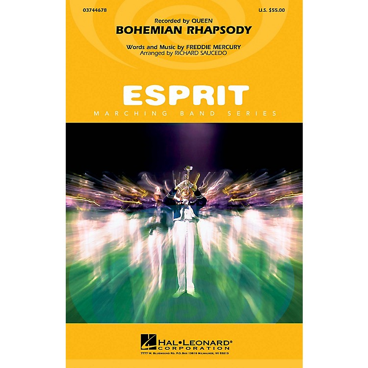Hal Leonard Bohemian Rhapsody Marching Band Level 3 Arranged by Richard Saucedo
