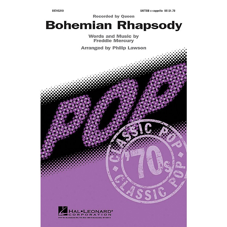 Hal LeonardBohemian Rhapsody SATTBB