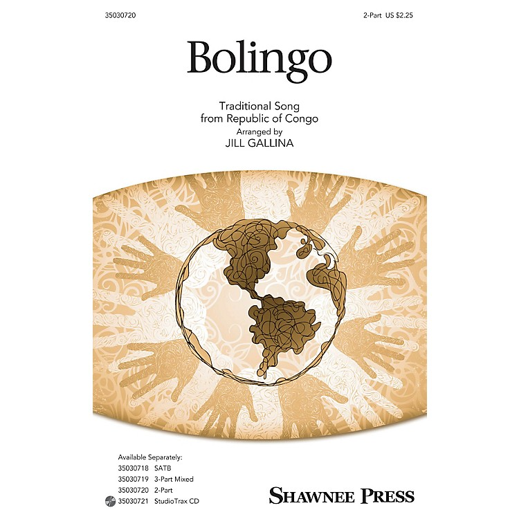Shawnee PressBolingo 2-Part arranged by Jill Gallina