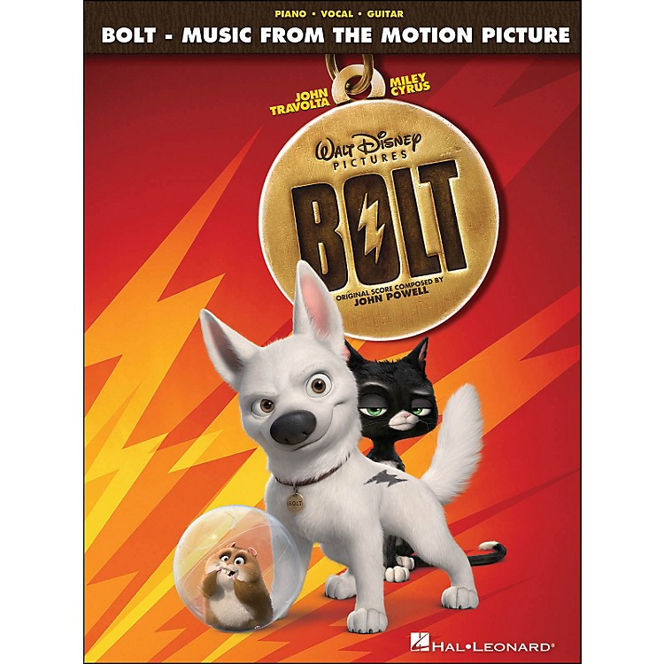 Hal LeonardBolt - Music From The Motion Picture Soundtrack arranged for piano, vocal, and guitar (P/V/G)