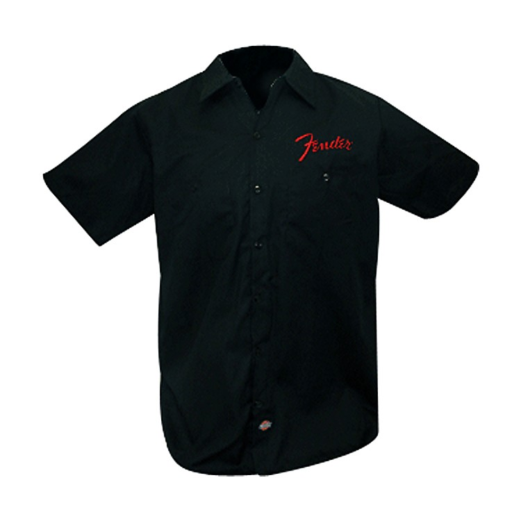 Fender Bolt Workshirt Black Small
