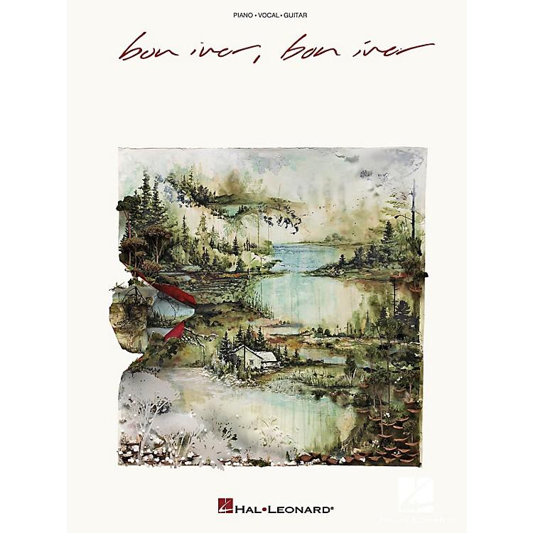 Hal LeonardBon Iver - Bon Iver Piano/Vocal/Piano Songbook