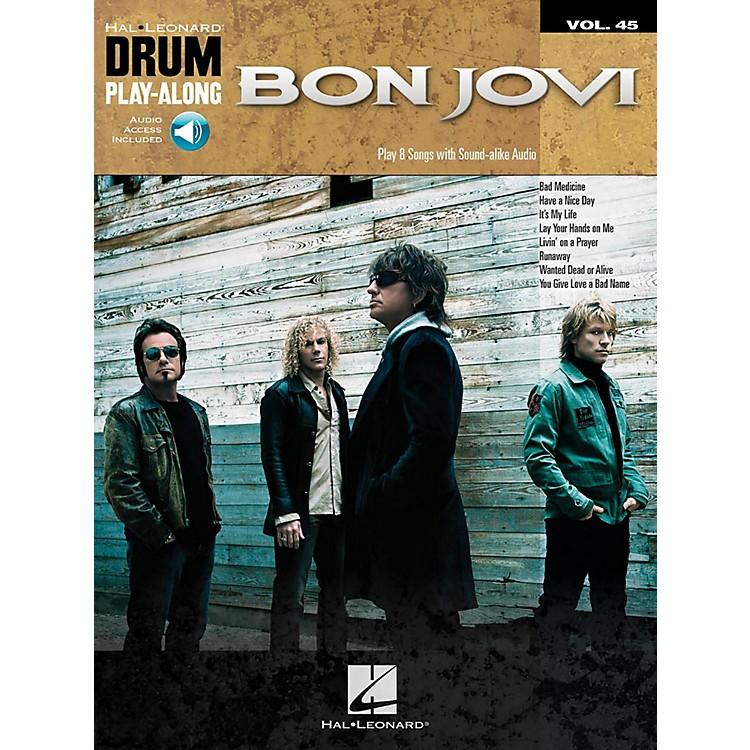 Hal LeonardBon Jovi - Drum Play-Along Volume 45 (Book/Audio Online)