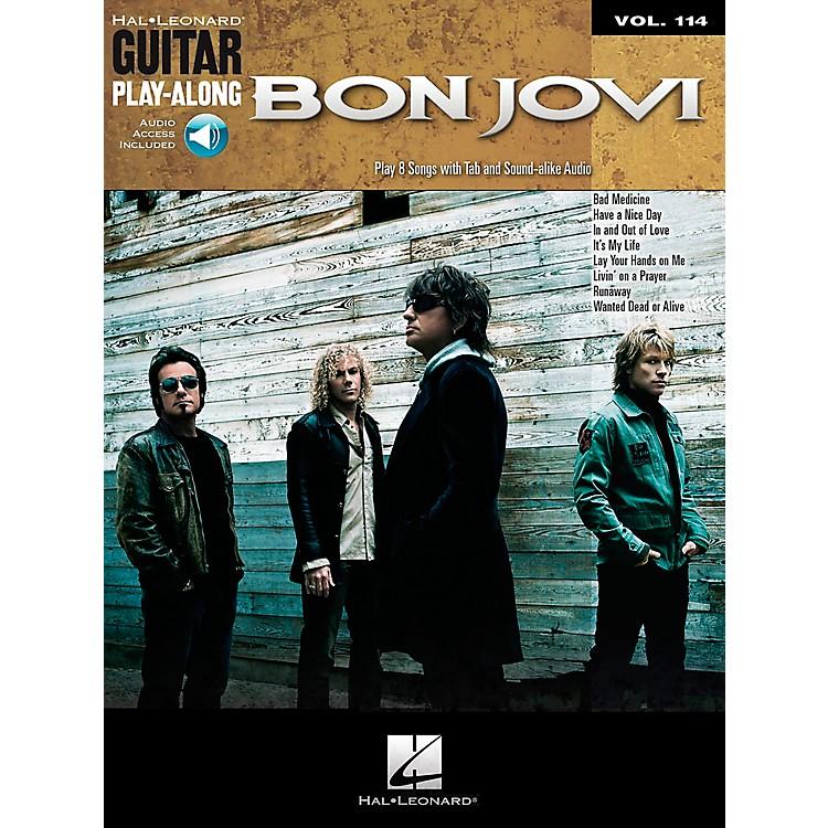 Hal LeonardBon Jovi - Guitar Play-Along Volume 114 (Book/CD)