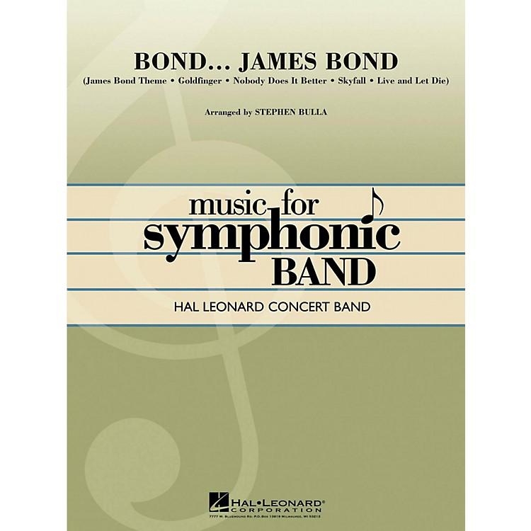 Hal LeonardBond...James Bond Hal Leonard Concert Band Level 4
