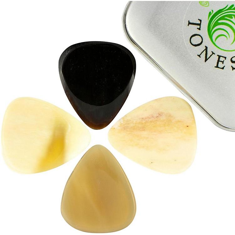Timber TonesBone Tones Mixed Tin of 4 Guitar Picks
