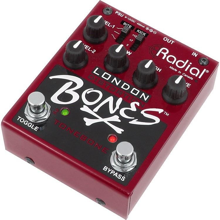 Radial EngineeringBones R800-7105 London Distortion Guitar Effects Pedal