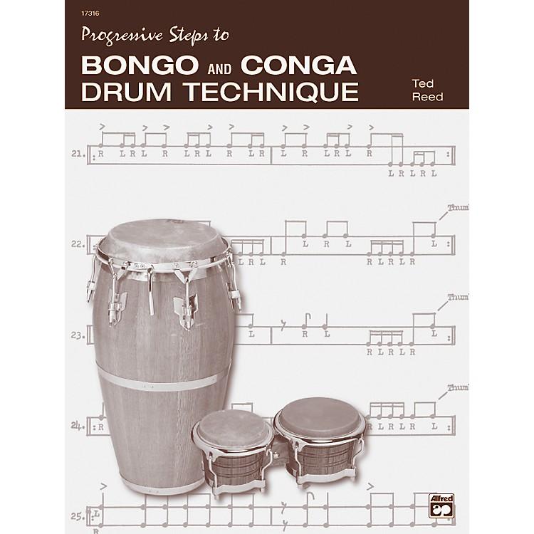 AlfredBongo and Conga Drum Technique Book