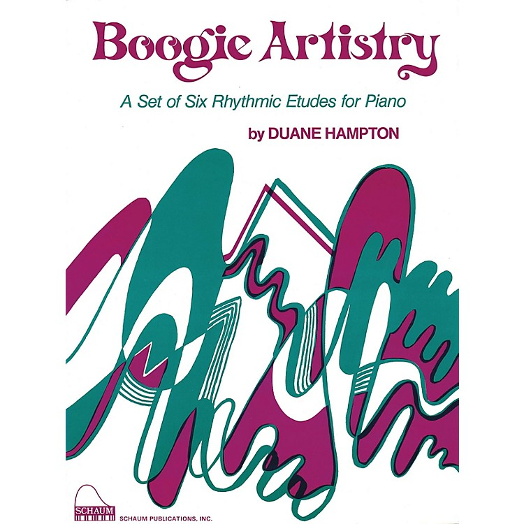 SCHAUM Boogie Artistry Educational Piano Series Softcover