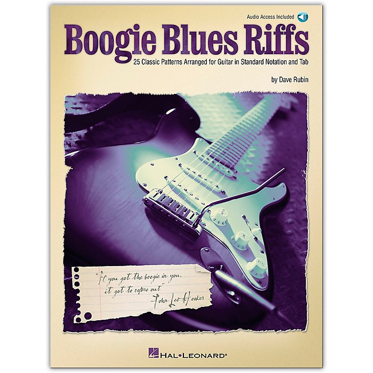 Hal LeonardBoogie Blues Riffs Guitar Tab (Book/Online Audio)