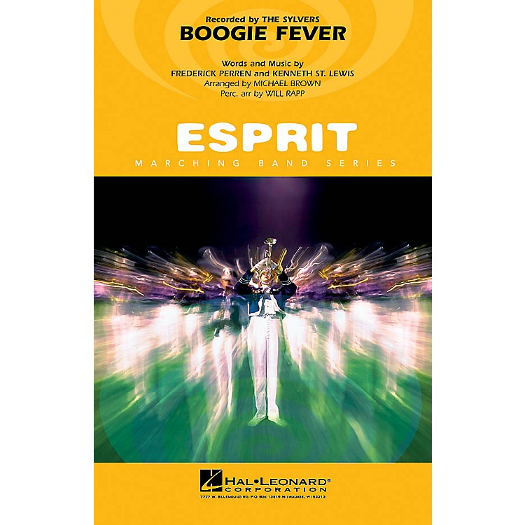 Hal LeonardBoogie Fever Marching Band Level 3 Arranged by Will Rapp