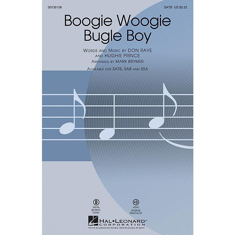Hal LeonardBoogie Woogie Bugle Boy SAB by Bette Midler Arranged by Mark Brymer