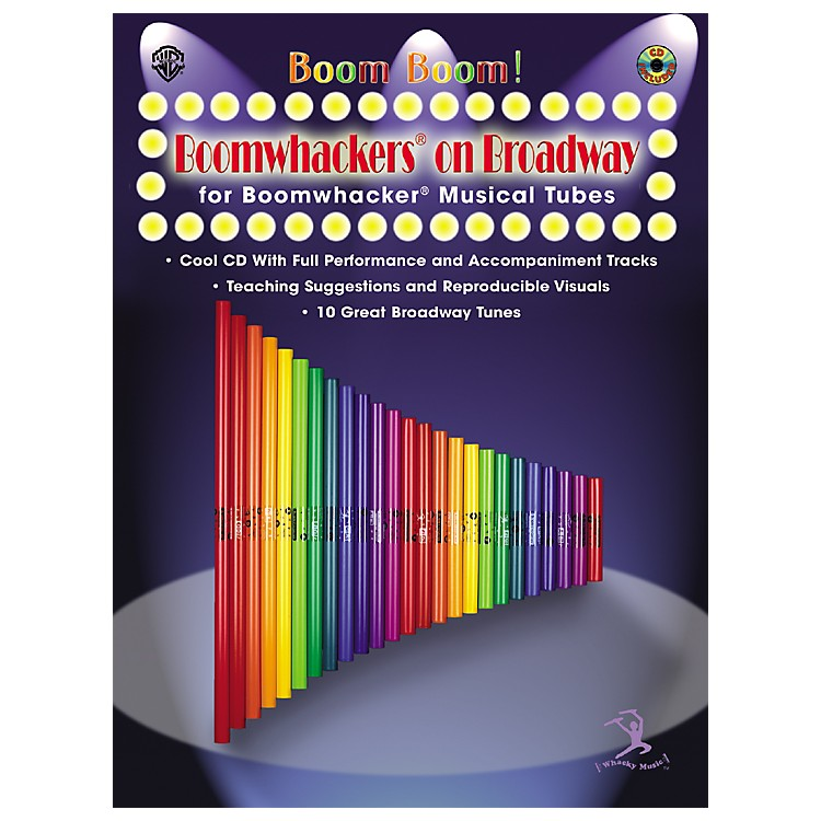 Alfred Boom Boom! Boomwhackers on Broadway Book