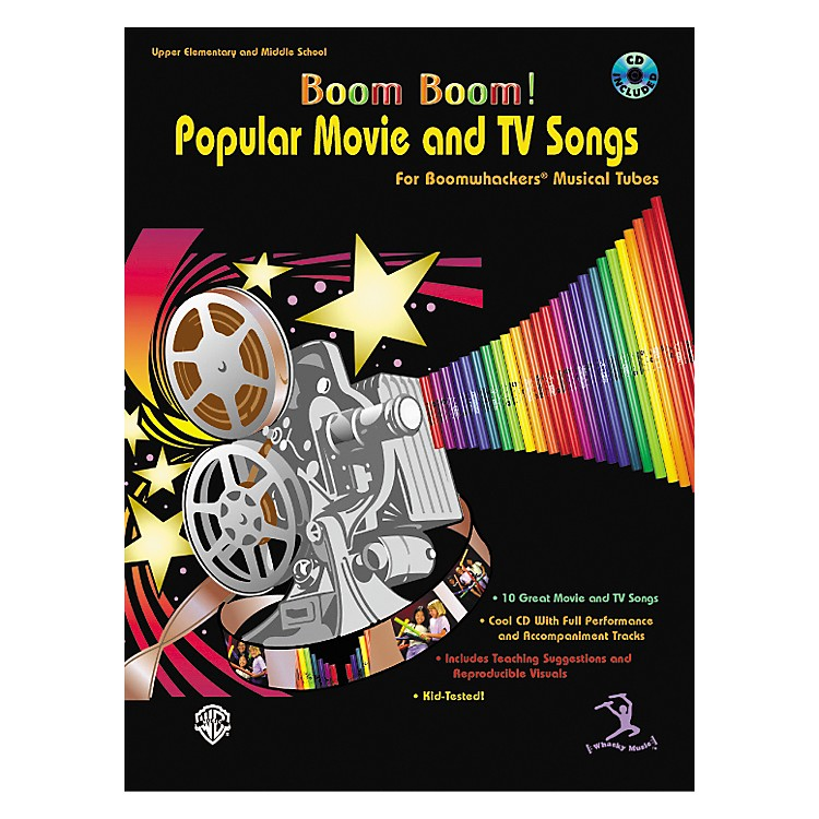 AlfredBoom Boom! Popular Movie and TV Songs for Boomwhackers Book with CD