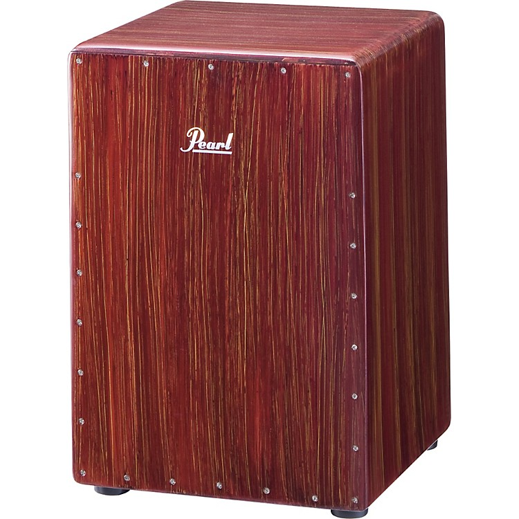 PearlBoom Box CajonArtisan Red Mahogany