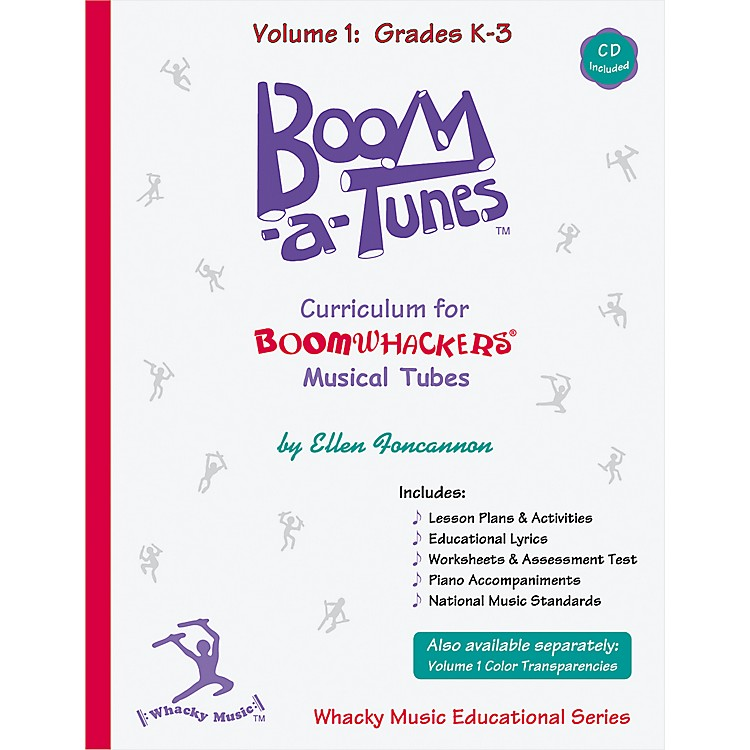 BoomwhackersBoom-a-Tunes Curriculum, Volume 1 (Book/CD)