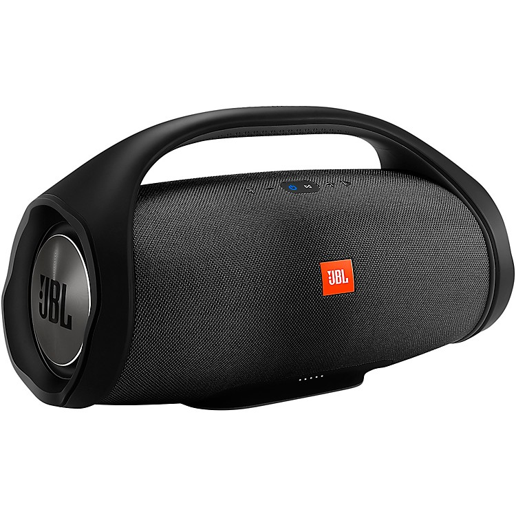 JBL Boombox Wireless Bluetooth Waterproof Portable Speaker Black Black