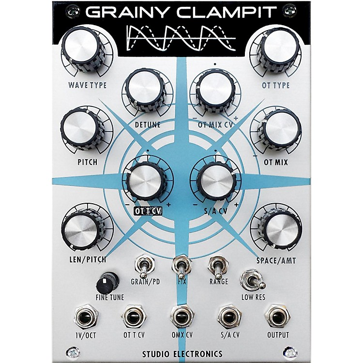 Studio ElectronicsBoomstar Modular Grainy Clampit