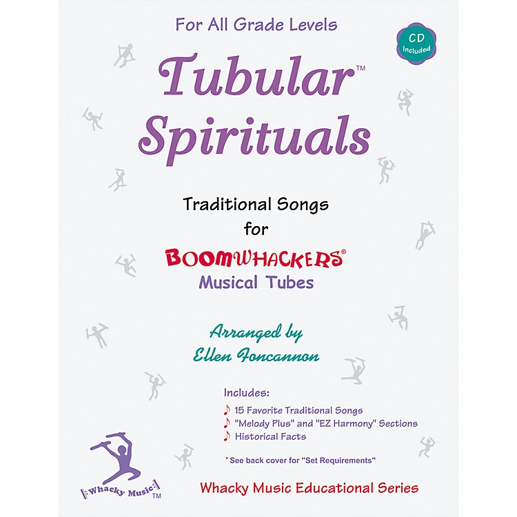 BoomwhackersBoomwhackers Tubes Tubular Spirituals Songbook with CD