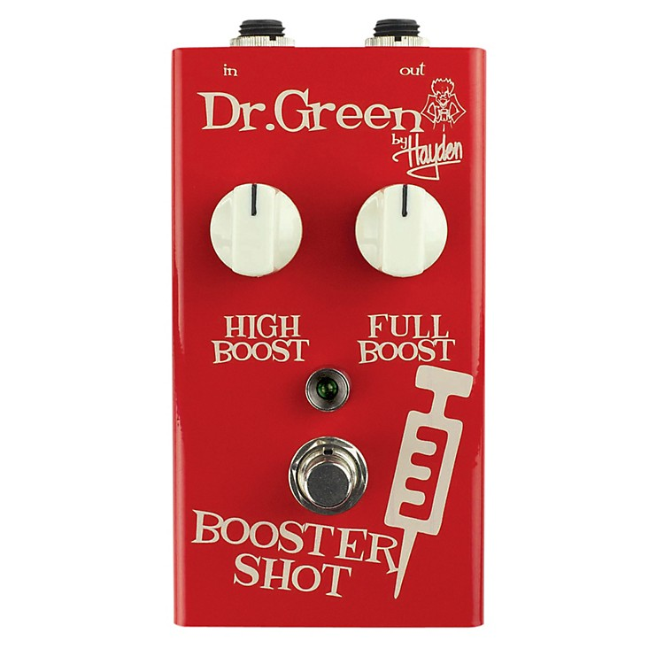 Dr. GreenBooster Shot Signal Booster Guitar Effects Pedal