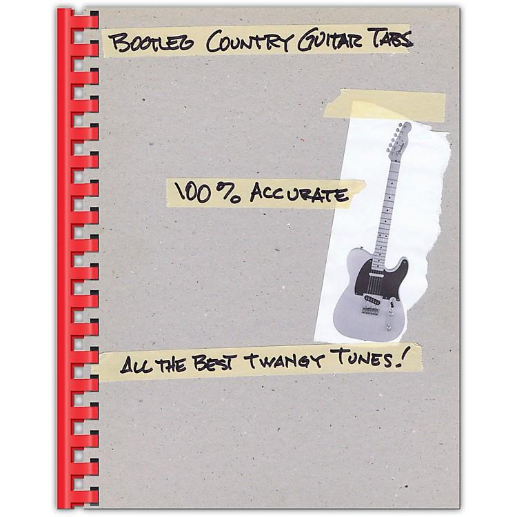 Hal LeonardBootleg Country Guitar Tabs 100% Accurate - All the Best Twangy Tunes