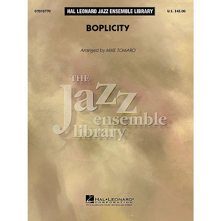 Hal LeonardBoplicity Jazz Band Level 4 by Miles Davis Composed by Gil Evans